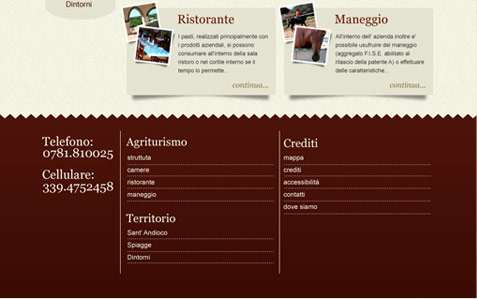 footer layout sito tupei